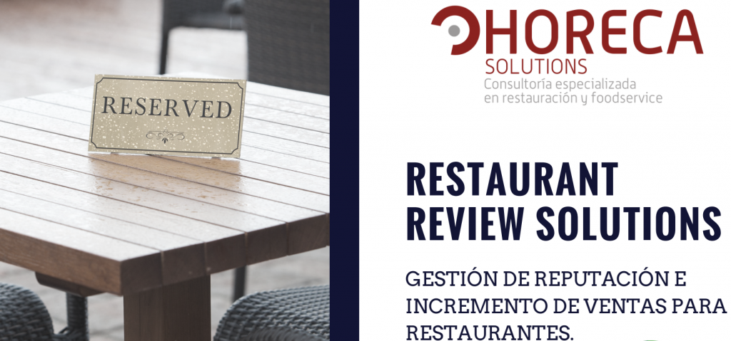 Dossier de presentación Restaurant Review Solutions