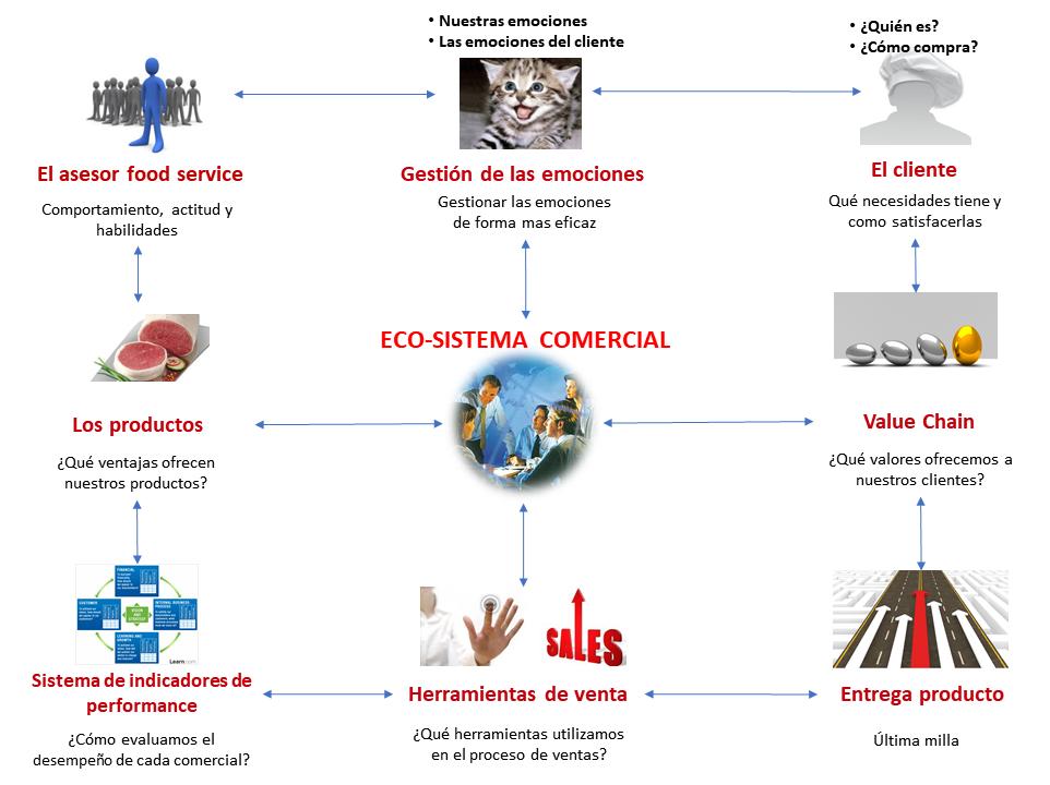 El ecosistema comercial HS